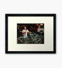 ho chi minh ride Framed Print