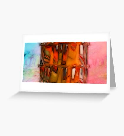 Triptych. Well-tempered Greeting Card