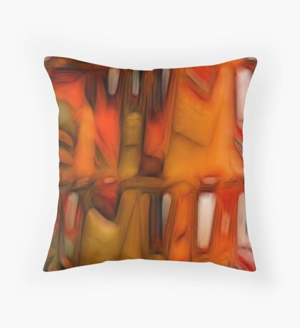 Triptych. Well-tempered Throw Pillow