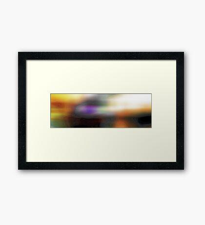 Harmony of the Spheres #3 Framed Print