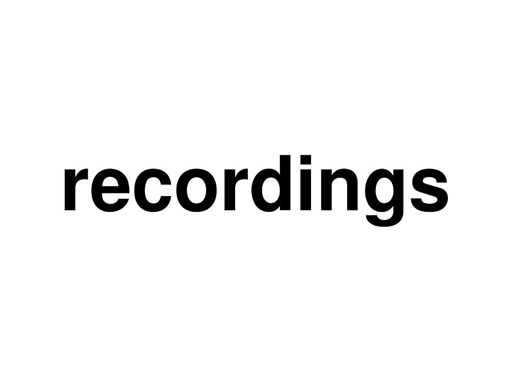 recordings by ninov94