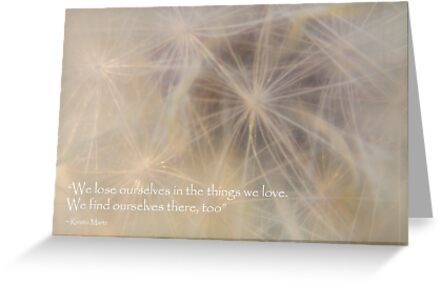 Find Ourselves in the Things we Love by Elysian Photography ~ Art from the Heart