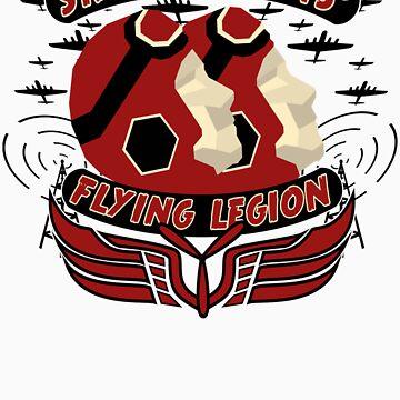 Flying legion by Purplecactus