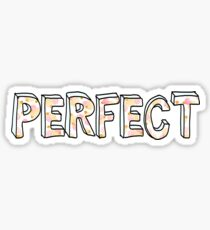 One Direction - Perfect  Sticker