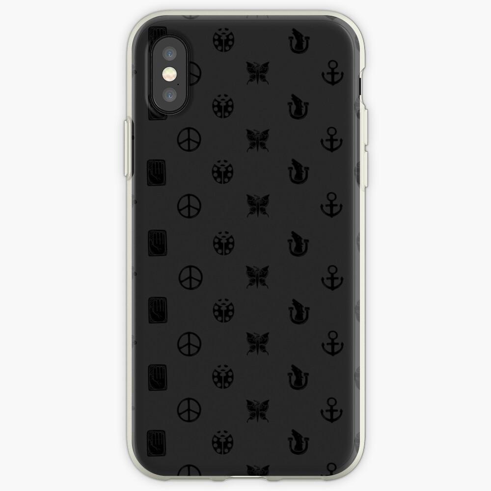 Bizarre Emblems [Ver. Negro] Funda y vinilo para iPhone