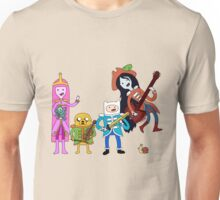 Sgt Finn's Awesome Friends Club Band Unisex T-Shirt
