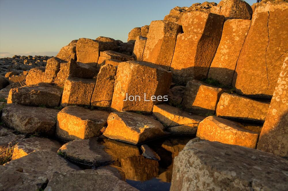 The Giants Causeway County Antrim Northern Ireland by Jon Lees