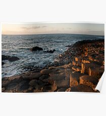 The Giants Causeway County Antrim Northern Ireland Poster