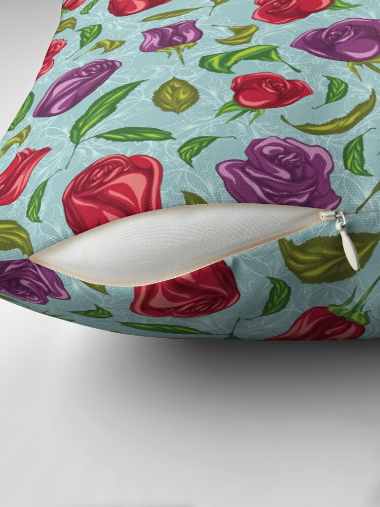 Alternate view of Delightful products Throw Pillow