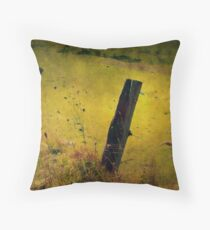 The Fence Post Throw Pillow