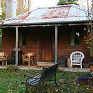 Settler's Hut, Berrima by Erland Howden