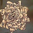 rose and notes by Dawn  Hawkins