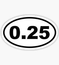 One Lap Sticker