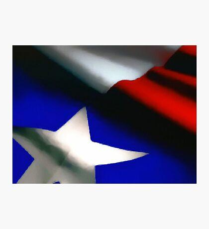Texas Flag Photographic Print