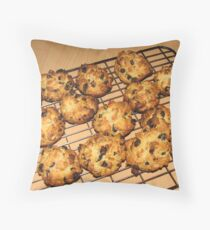 Rock Cakes - Fresh from the Oven Throw Pillow