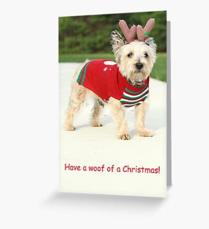 Mug holiday 1 Greeting Card