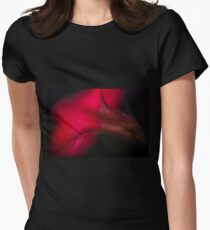 colorful abstract of a red flower T-Shirt