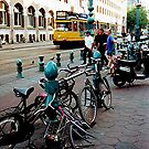 A Bicycle built for none............? Amsterdam. by Roy  Massicks