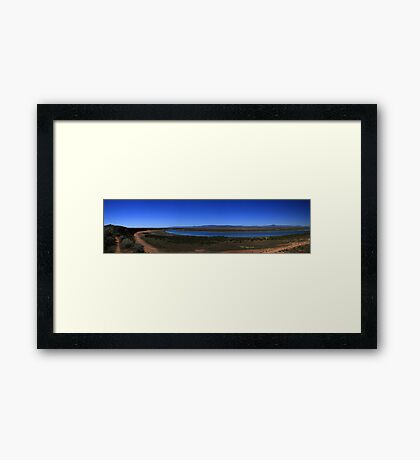 Red Cliffs Port Augusta Framed Print