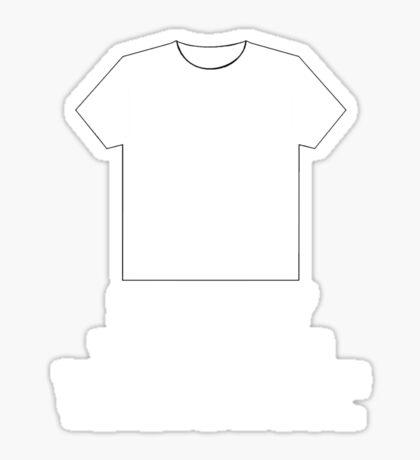 The Stig's Favorite Shirt Sticker