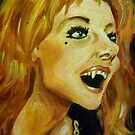 Ingrid Pitt as Countess Dracula by debzandbex