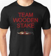 Team Wooden Stake (Black) Unisex T-Shirt