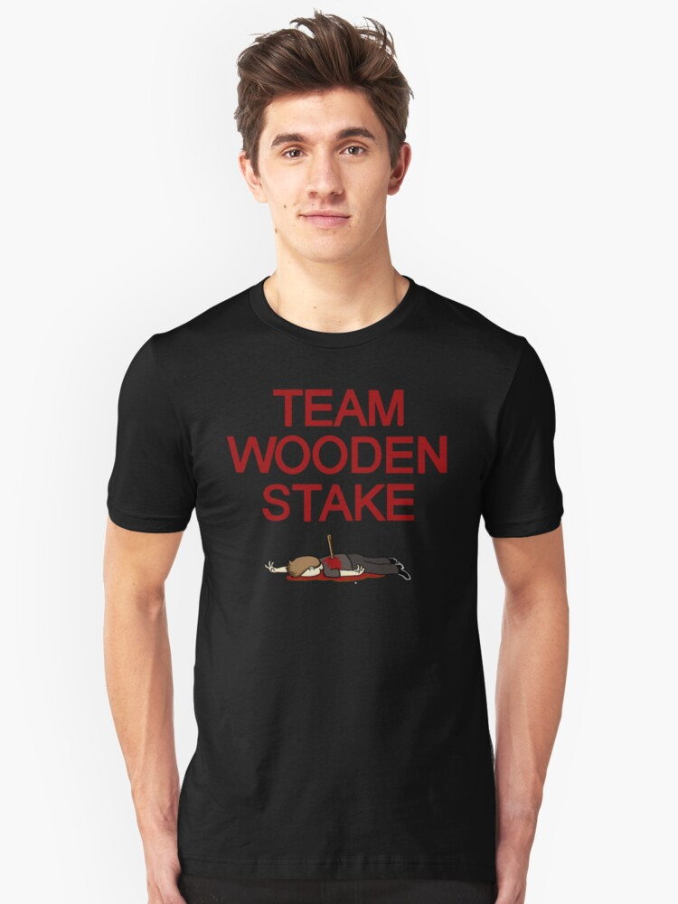Team Wooden Stake (Black) by killerpeapods