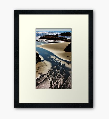 Sand, Sea and Sunlight Framed Print
