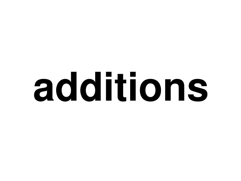 additions by ninov94