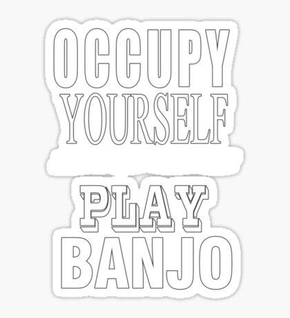 Occupy - play Sticker