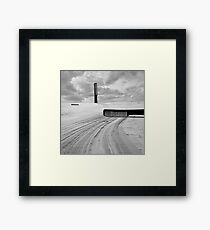To comb the Dunes Framed Print