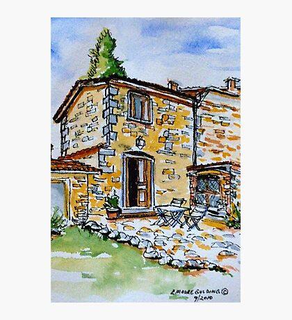 La Vigna. Anghiari. Tuscany. Photographic Print