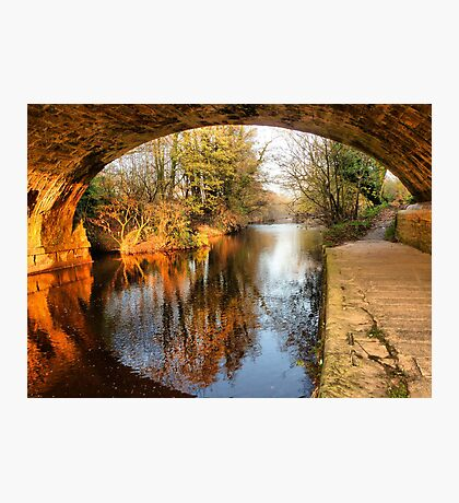 Under the Aquaduct. Photographic Print