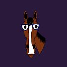 Horse Thinkery's Edgar the Professor by HorseThinkery