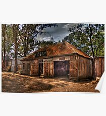 Livery - Australian Pioneer Village,Wilberforce - The HDR Experience Poster