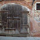 An Old Venitian Door by Alfredo Estrella