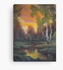Twilight Fall Canvas Print