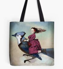 On sundays she always flies out Tote Bag