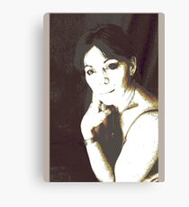 highlighted play portrait Canvas Print