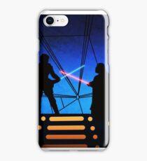 STAR WARS! Luke vs Darth Vader  iPhone Case/Skin