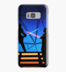 STAR WARS! Luke vs Darth Vader  Samsung Galaxy Case/Skin