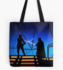 STAR WARS! Luke vs Darth Vader  Tote Bag