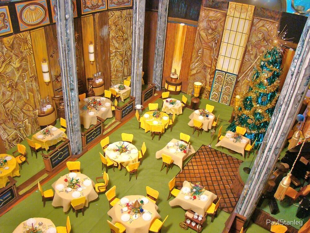 """""Poseidon Adventure"" ballroom diorama sans Extras:"" by ..."