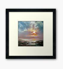 Hebridean Sky Study 4 Framed Print