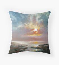 Hebridean Sky Study 4 Throw Pillow
