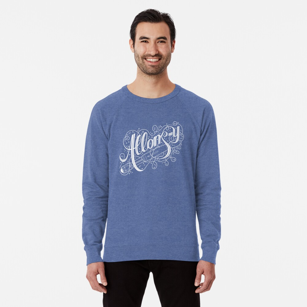 Allons-y! Leichter Pullover