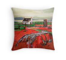 Skye Phonebox Throw Pillow