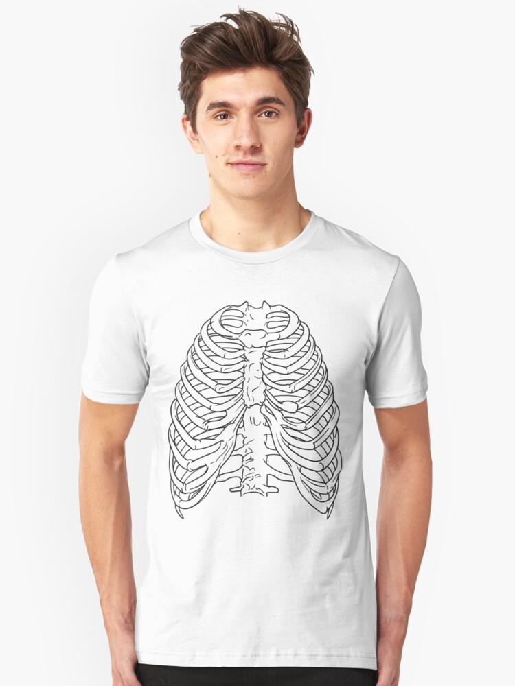 Ribs 2 Unisex T-Shirt Front