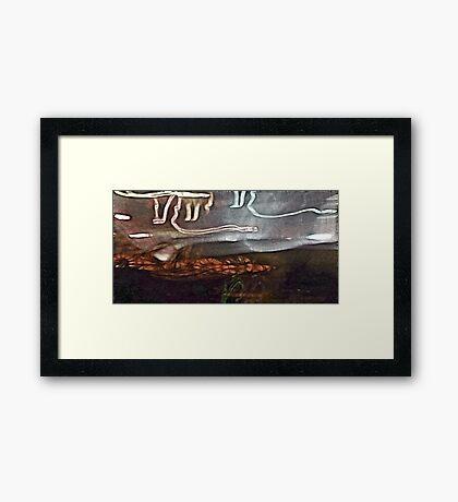 Raise & Take It #1 Framed Print