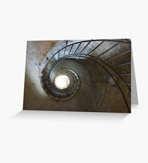 Spiral Stair Greeting Card